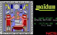 メイドゥム(PC-8801、1986年)
