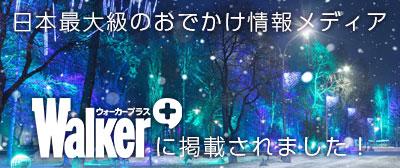 ウォーカープラス・イルミネーション特集